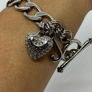 Vintage Juicy Couture Chain Link Bracelet